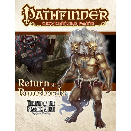 PATHFINDER ADVENTURE PATH: TEMPLE OF THE PEACOCK SPIRIT (RETURN OF THE RUNELORDS 4 OF 6)