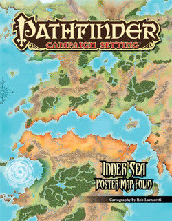 PATHFINDER CHRONICLES: INNER SEA POSTER MAP FOLIO