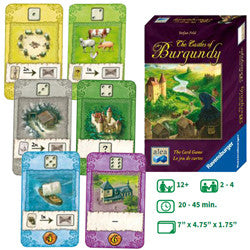 Castles Of Burgundy: The Card Game - Boardlandia
