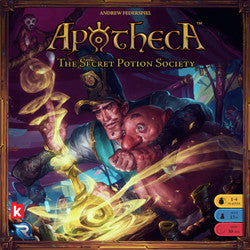 Apotheca - The Secret Potion Society - Boardlandia