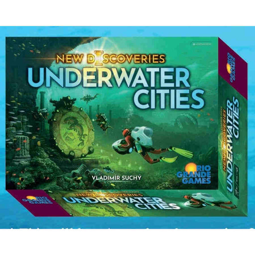 Underwater Cities: New Discoveries Expansion (Pre-Order)