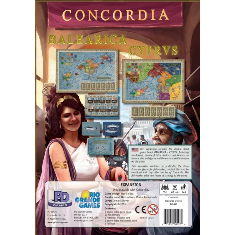 Concordia: Balearica and Cyprus Expansion