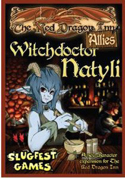 Red Dragon Inn: Allies - Witchdoctor Natyli Expansion - Boardlandia