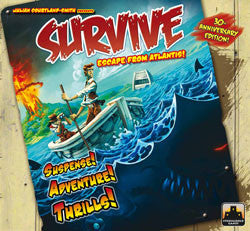 Survive: Escape From Atlantis! 30Th Anniversary Edition - Boardlandia