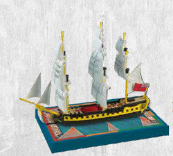 SAILS OF GLORY: HMS IMPÉTUEUX 1796 -BRITISH S.O.L. SHIP PACK