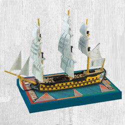 SAILS OF GLORY: HMS BELLONA 1760 -BRITISH S.O.L. SHIP PACK