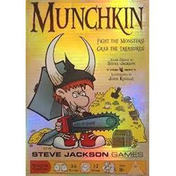Munchkin Card Game (Mass Market Edition) - Boardlandia