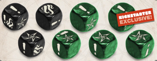Cthulhu Death May Die: Frost Dice (Kickstarter Special)