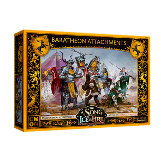 A Song of Ice & Fire: Baratheon Attachments #1 (Pre-Order)