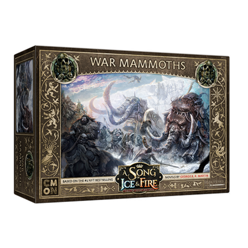 A Song of Ice & Fire: Free Folk War Mammoths (Pre-Order)