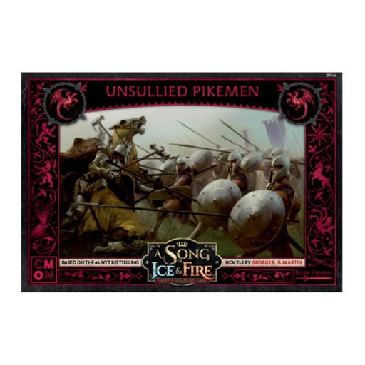A Song of Ice & Fire: Targaryen Unsullied Pikemen (Pre-Order)