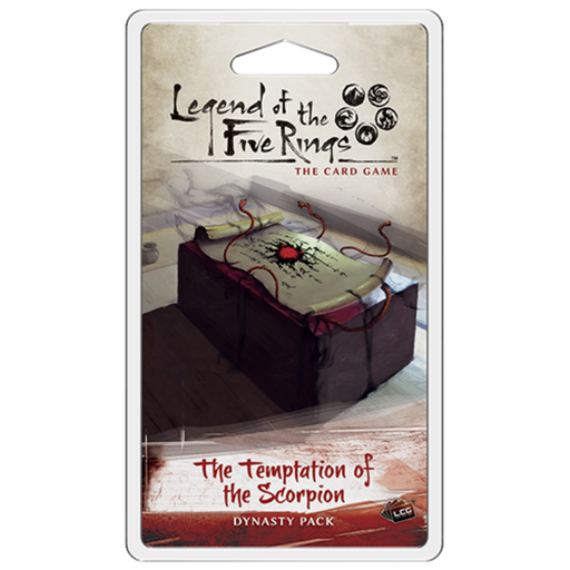 Legend of the Five Rings LCG: The Temptation of the Scorpion Dynasty Pack (Pre-Order)