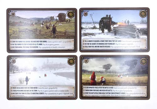 Scythe Kickstarter Promo Pack #1 - Promo Encounter Cards (2932)
