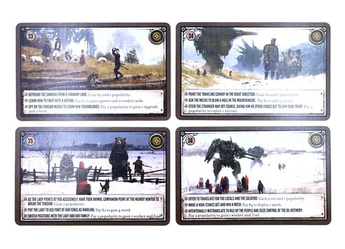 Scythe Kickstarter Promo Pack #2 - Promo Encounter Cards