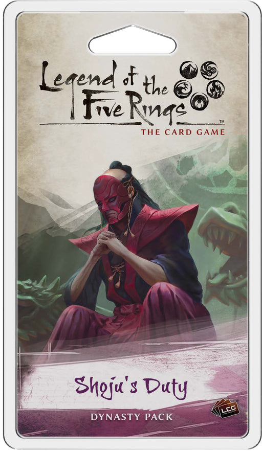 Legend of the Five Rings LCG: Shoju's Duty Dynasty Pack (Pre-Order)