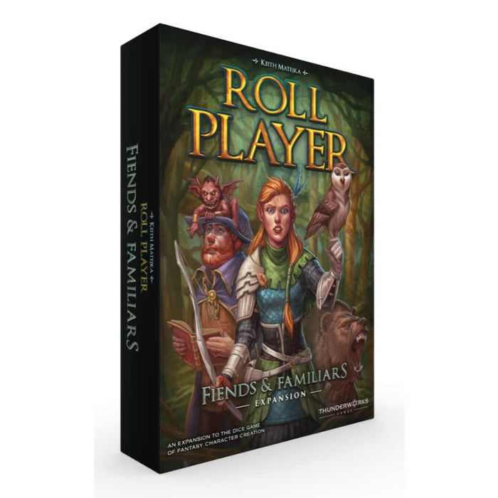 Roll Player: Fiends and Familiars Expansion