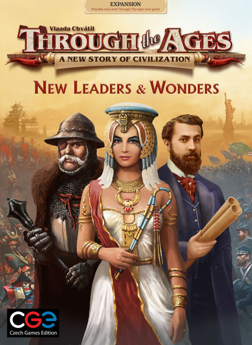 Through The Ages - New Leaders & Wonders Expansion (Pre-Order)