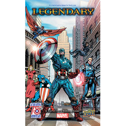"Marvel: ""Legendary"" Deck Building Game - Captain America 75Th Anniversary Small Box Expansion - Boardlandia"