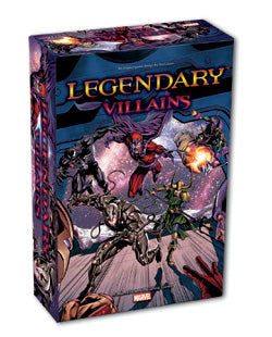 Legendary Marvel Deck Building Game - Villains - Boardlandia