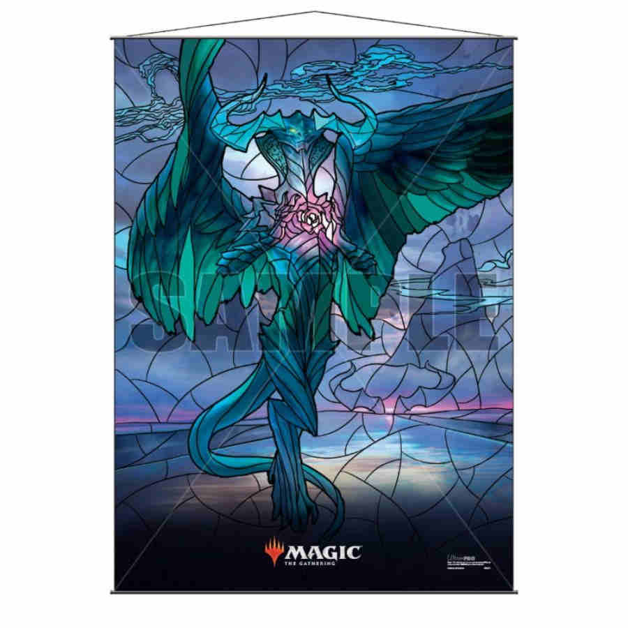 Magic The Gathering: Stained Glass Wall Scroll- Ugin