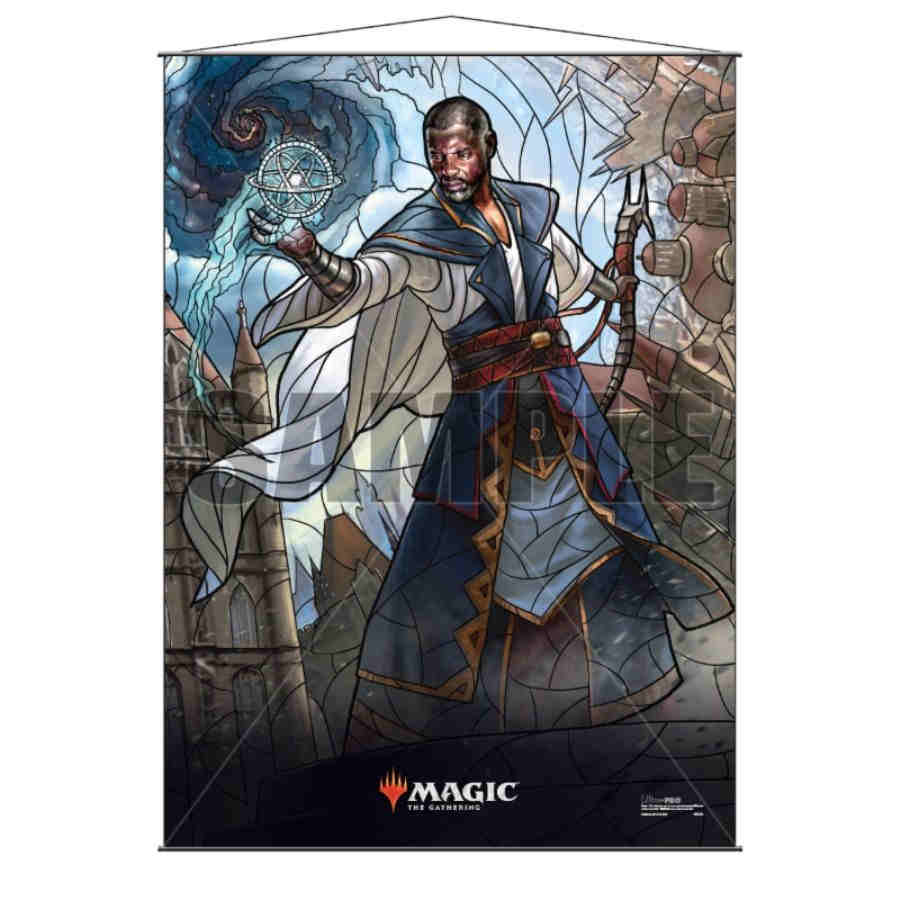 Magic The Gathering: Stained Glass Wall Scroll- Teferi