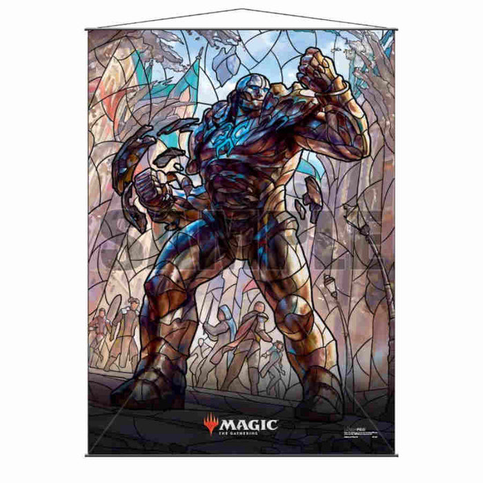 Magic The Gathering: Stained Glass Wall Scroll- Karn