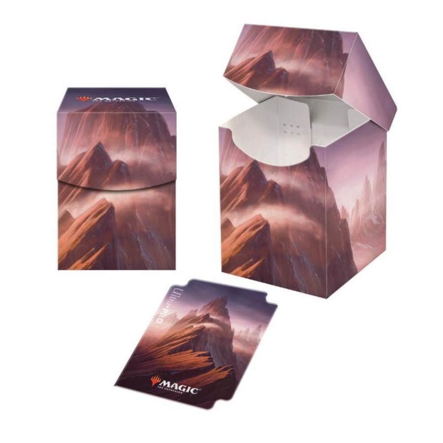 Ultra Pro: Magic the Gathering Deck Box - Unstable Lands - Mountain Pro 100+