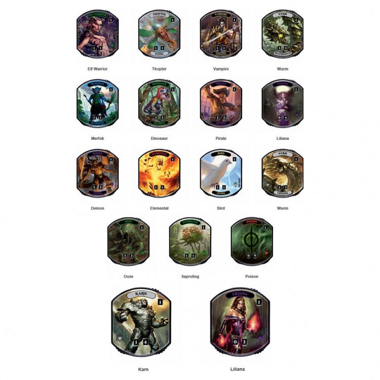 Magic the Gathering - Relic Tokens - Lineage Collection