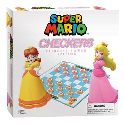 Checkers - Super Mario Princess Power Edition