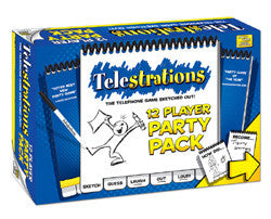 Telestrations 12 Player - Party Pack - Boardlandia