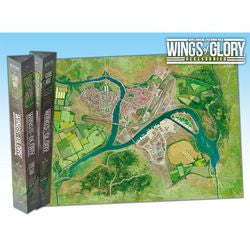 WINGS OF GLORY GAME-MAT: INDUSTRIAL COMPLEX