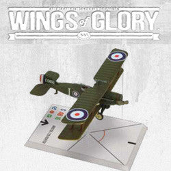 "Wings Of Glory Ww1 - Bristol F.28 Fighter ""Arkell/Stagg"" - Boardlandia"