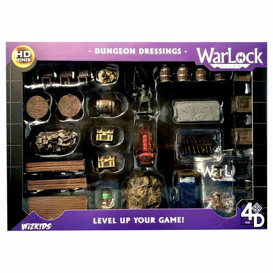 Warlock Tiles: Dungeon Dressings (Pre-Order)