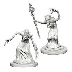 DUNGEONS AND DRAGONS: NOLZUR'S MARVELOUS UNPAINTED MINIATURES - MINDFLAYERS