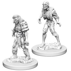 DUNGEONS AND DRAGONS: NOLZUR'S MARVELOUS UNPAINTED MINIATURES - ZOMBIES - Boardlandia