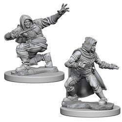 Pathfinder: Deep Cuts Unpainted Miniatures - Human Male Rogue - Boardlandia