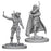 Pathfinder: Deep Cuts Unpainted Miniatures - Human Female Rogue - Boardlandia