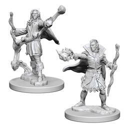 PATHFINDER: DEEP CUTS UNPAINTED MINIATURES - ELF MALE SORCERER