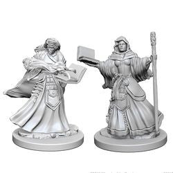 DUNGEONS AND DRAGONS: NOLZUR'S MARVELOUS UNPAINTED MINIATURES - HUMAN FEMALE WIZARD - Boardlandia