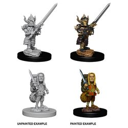 Dungeons and Dragons: Nolzur's Marvelous Unpainted Miniatures - Male Halfling Fighter