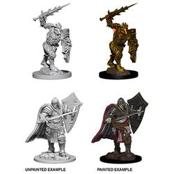 Dungeons & Dragons - Nolzur's Marvelous Unpainted Miniatures - Death Knight & Helmed Horror