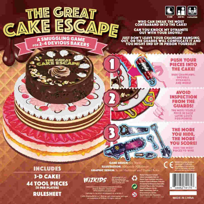 The Great Cake Escape