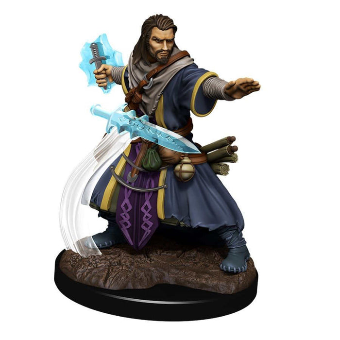 Dungeons and Dragons: Nolzur's Marvelous Unpainted Miniatures - Male Human Wizard