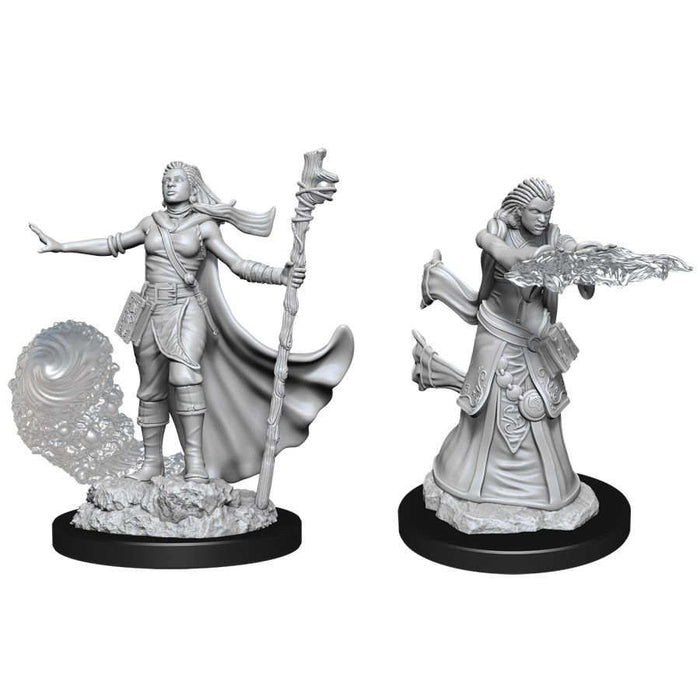 Dungeons and Dragons: Nolzur's Marvelous Unpainted Miniatures - Female Human Wizard