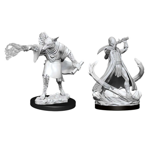 Dungeon's and Dragons: Nolzur's Marvelous Unpainted Miniatures - Arcanaloth and Ultroloth