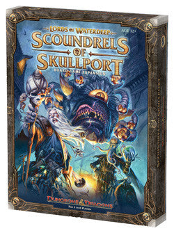 Lords Of Waterdeep - Scoundrels Of Skullport Expansion - Boardlandia