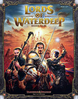 Lords Of Waterdeep Board Game - Boardlandia