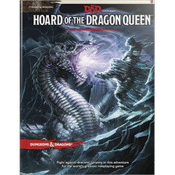 "Dungeons & Dragons: Tyranny Of Dragons - ""Hoard Of The Dragon Queen"" (Fifth Edition) - Boardlandia"