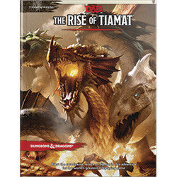 "DUNGEONS AND DRAGONS: TYRANNY OF DRAGONS - ""THE RISE OF TIAMAT"" - Boardlandia"