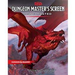 Dungeons & Dragons: Dungeon Masters Screen Reincarnated (Fifth Edition) - Boardlandia